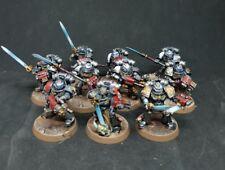 warhammer 40k Pro painted Grey knights Strike squad