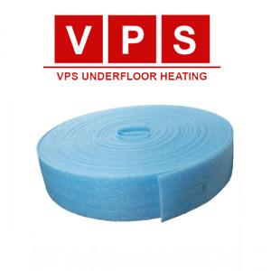 Underfloor Heating Edge / Perimeter Insulation 25m roll (150mm wide x 8mm thick)