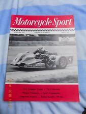 Motorcycle Sport/Benelli 750 six/Morgan/Voskhod 175/Suzuki T500R/RS125/DT125