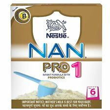 Nestle Nan Pro 1 Follow-Up Infant Formula Powder, Upto 6 months, 400 gm
