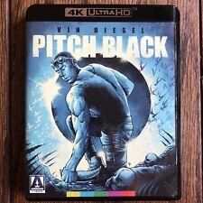 Pitch Black 4K Bluray Arrow Video New Release