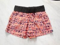 NWT Eye Candy Women's Junior's Shorts Elastic Waist Casual Multi Colored Size M