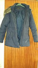 VERO MODA ladies coat,used,size M,very good condition, navy