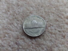 Rare Collectable  American Jefferson Coin 5 Cents S 1943 - 20.5mm .  Good Gift.