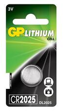 3x GP 2025 3 V Lithium Coin Cell Batteries CR2025 DL2025 Batterie-Neuf