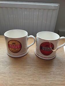 Wade Beer Mugs Vaux Breweries Ltd Double Maxim Light 2 Mugs