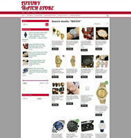 UK LUXURY WATCH WEBSITE WITH FREE DOMAIN AND 1 YEARS HOSTING
