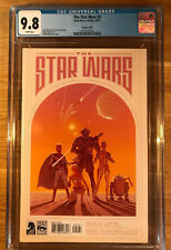 The Star Wars #2 (2013), McQuarrie Variant, CGC 9.8, graded NM/MT