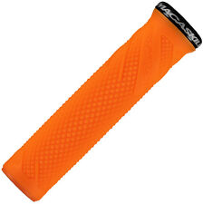Lizard Skins Danny Macaskill Lock-On MTB Mountain Bike MTB Grips - Tangerine
