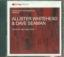 House Puts The Breaks On Mixed By Allister Whitehead & Dave Seaman Cd Perfetto