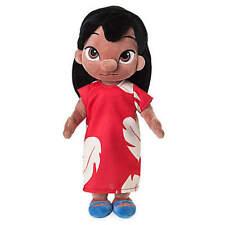 """Disney Store Animators' Collection Lilo Plush Doll Small 12"""" Lilo & Stitch NWT"""