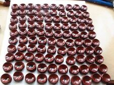 100PCS red patina wood tower stand pedestal holding CRYSTAL Sphere