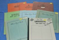 Various Stock File for Stamp Sheets BlueLakeStamps  Useful. Group C grade.