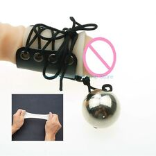 Metal Ball Penis Extender Heavy Weight Stretching Enlarge Erection Enhance Set