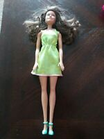 Brunette Hazel Eyed Barbie Doll 2015