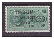 ZARA  1943  ESPRESSI -  LIRE 1,25  -    NUOVO **  POS   34