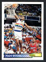Reggie Williams #113 signed autograph auto 1992-1993 Upper Deck Basketball Card