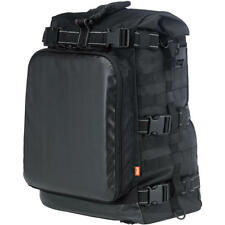 Biltwell Black EXFIL-80 Sissy Bar Luggage Rack Pack Bag Harley Custom Metric XL