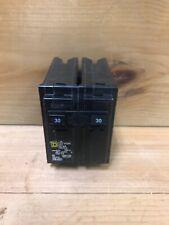 Circuit Breaker 30 Amp 2 Pole Standard Trip Overload + Short Circuit Protection
