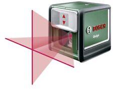 NEW BOSCH QUIGO Self Leveling Cross Line Laser Level/Plumb +MM2 Universal Mount