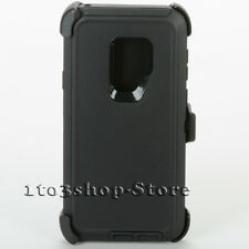 Samsung Galaxy S9+ Plus Hard Case +Holster Belt Clip fit Otterbox Defender Black
