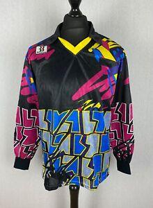 Vintage 90's Biemme Goalkeeper Football Shirt Men's Size L Soccer Jersey Padded