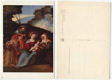 01820-Paolo (fra AGOST.): sacra Famiglia-vecchia cartolina