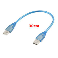 30cm USB 2.0 Male A to Male A Cable Extension USB A Male on Bothe ends HQ Drives