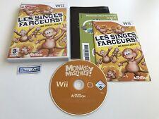 Les Singes Farceurs - Nintendo Wii - PAL FR - Avec Notice