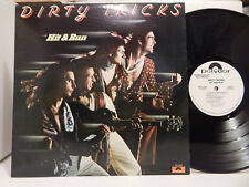DIRTY TRICKS Hit and Run WLP Polydor PD 1-614 U.S. Promo Super Clean LP NM
