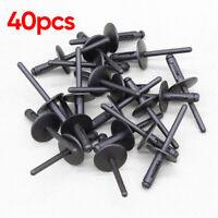 30pcs Nylon Plastic Pop Blind Rivets,Wheel Arches Side Skirts Sills /& Bumpers