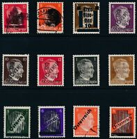 Lot Stamp Germany Austria Slovenia WWII 3rd Reich Hitler Overprints Selection U