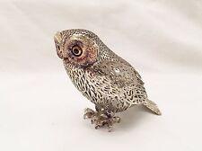 Hiboux Métal Argenté CHRISTOFLE Collection Lumière Collection Animaux Oiseau