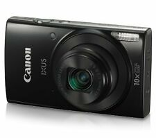 CANON IXUS 190 (Black) 20.0 MP with 10x Optical Zoom with 20x ZoomPlus (SMP5)