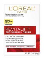 L'Oreal Revitalift Anti-Wrinkle + Firming Day Cream Moisturizer, SPF 25, 1.7 oz