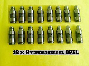 16x Opel Corsa D 1,0L + 1,2 L + 1,4 L Hydrostößel VENTILSTOESSEL HYDRAULISCH OPC
