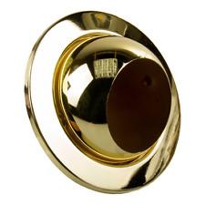 Eyeball Downlights GZ/GU10 Mains TWIST & LOCK Brass Light Fitting 50W 240V 110mm