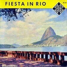 """7"""" ORCHESTER FERNANDEZ PRAY Fiesta in Rio Siboney TELEFUNKEN FÜLLSCHRIFT EP 1957"""