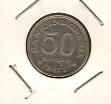 INDONESIA: Moneta Coin 50 Rupiah 1971 Bank Indonesia