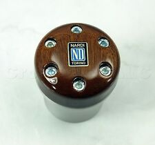 Nardi Aluminum / Wood Gear Shift Knob for Opel, Volvo, Renault, Alfa Romeo 156