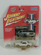 Johnny Lightning 1966 Ford Mustang GT White 1:64 Scale Diecast - New