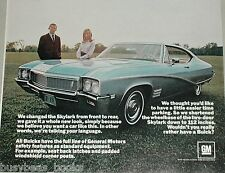 1968 Buick advertisement page, Buick Skylark, 2-door hardtop