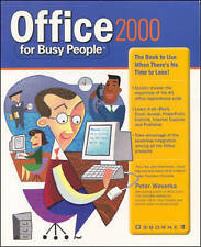 Office 2000 for Busy People, By Weverka, Peter,in Used but Acceptable condition