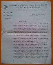 Roma 1932: Ass. Naz. fra Casse Rurali Agrarie ed Enti Ausiliari