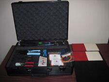 C-TECH FIBER OPTIC TRAINING KIT / EDUCATIONAL METAL CASE SPOT TESTER