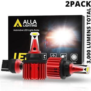 LED White 7440 Back Up Light Bulb Reverse Lamps for Honda,Alla Brightest Model💡