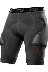 Fox Titan Race Shorts With Protectors Grey Protektorenshorts MTB Enduro