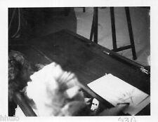 POL824 Polaroid Photo Vintage Original meuble abstract