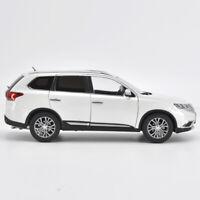 1:/18 Scale Mitsubishi 2017 Outlander Diecast Static SUV Car Model White Gift