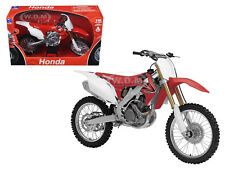 2012 HONDA CR 250R DIRT BIKE RED 1/12 MOTORCYCLE MODEL BY NEW RAY 57463